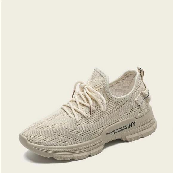 SHEIN Shoes   Shein White Tennis Shoes